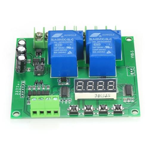 12V/24V 2-Channel Motor Driver Shield Board 30A LED Relay Module for Arduino Raspberry Pi