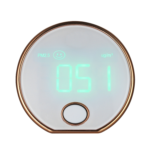 Mini przenośny, wysoko precyzyjny, wewnętrzny monitor powietrza Haze Dust PM2.5