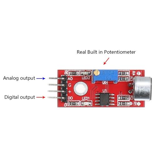 3шт с сенсорным модулем с сенсорным модулем с сенсорным модулем с высокой чувствительностью и высоким уровнем чувствительности для Arduino фото