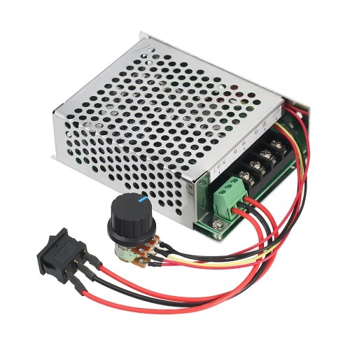 DC10~50V 40A PWM Speed Controller Board Motor Driver Controller CW/CCW Reversible Driver Electronic Governor