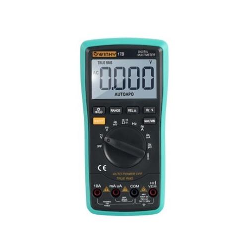 KKMOON 17B 6000 conta il vero multimetro digitale multifunzione a piena protezione RMS multimetro portatile con batteria e strumenti retroilluminazione LCD di strumenti elettrici e apparecchi