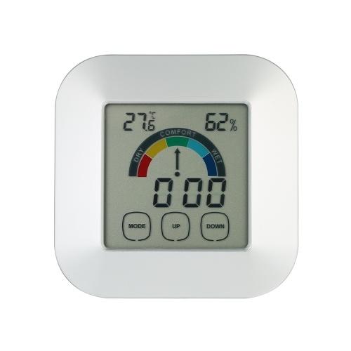 Indoor Comfort Indicazione Termometro Igrometro Smart Touchscreen digitale Schermo colorato Retroilluminazione orologio