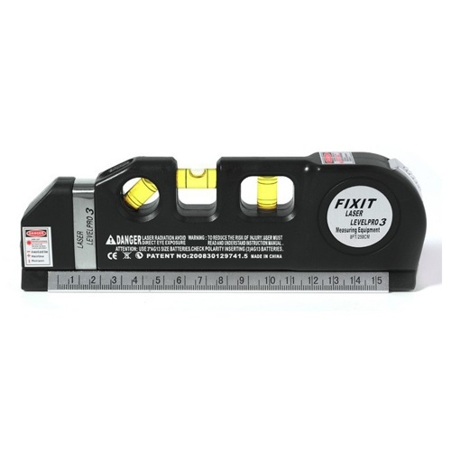 Righello orizzontale di misurazione del livello laser multifunzionale