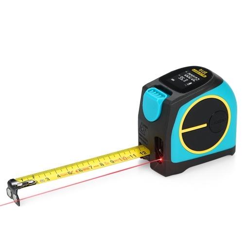 MiLESEEY DT10  2 in 1 Digital Laser Distance Meter Tapeline 40m