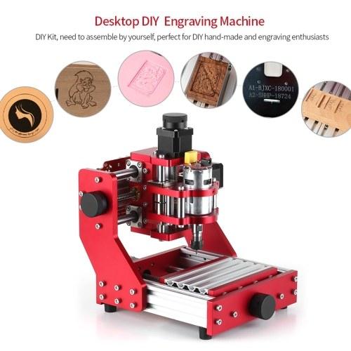 5500mw Mini CNC Router 1310 CNC Metal Engraving Milling Machine Kit PCB Wood Milling Laser Machine Engraver with ER11 Collet