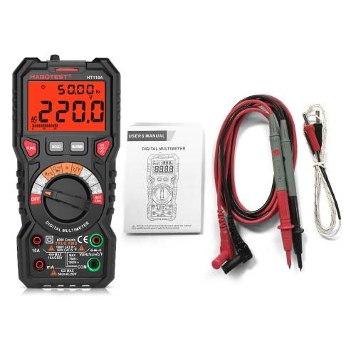 HABOTEST HT118Aデジタルマルチメーターオートレンジマルチメーター6000カウント真のRMS測定
