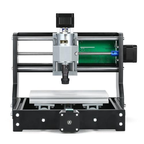 デスクトップdiyミニ1610プロcnc彫刻機3軸小さな彫刻機GRBL制御ミニcncマシンcnc彫刻機