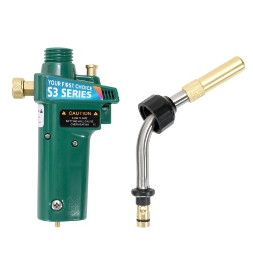 Riscaldamento Saldatore Bruciatore Brasatura Saldatura Torcia MAPP Gas Autoaccensione Trigger Style con blocco di sicurezza Strumento di riparazione