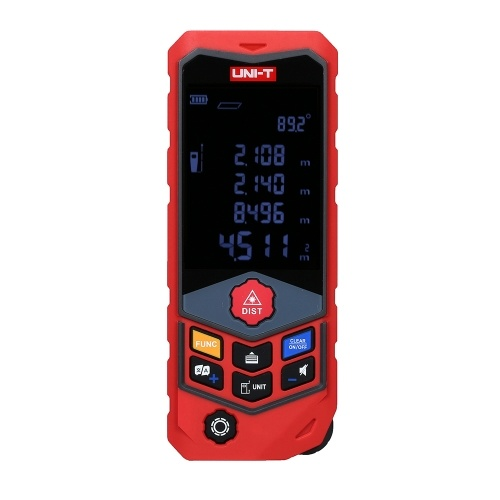 UNI-T LM100D Distance Meter Laser Rangefinder Wheel Type Range Finder Handheld Laser Distance Meter Wheel Measurement 20 Group Data Storage