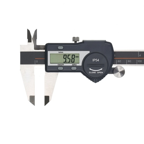 Digital Stainless Steel Caliper mm/inch High Precision LCD Display Vernier Caliper IP54  Waterproof 0-100mm