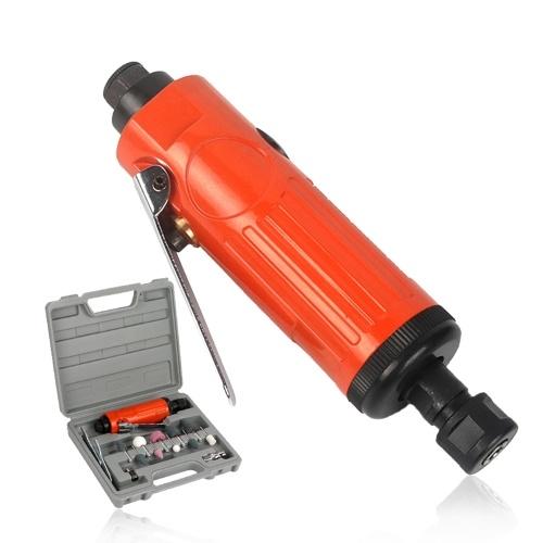 1/4〃 Air Compressor Die Grinder 23000rpm Grinding Polish Stone Kit Air Grinder Mill Engraving Tools Kits Pneumatic Tools / Red