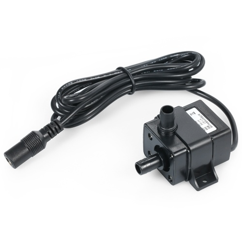 4.8W 240L/H Water Pump Aquarium Submersible Pump Mini Submersible Water Pump Max. Lift 300cm Small DC Submersible Pump