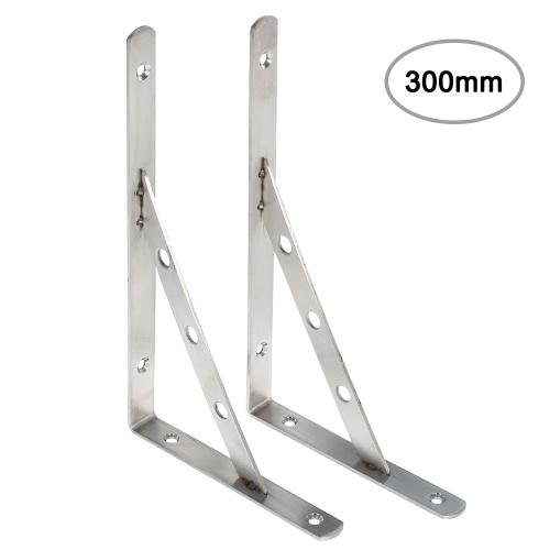 2 piezas Soporte triangular Soporte de
