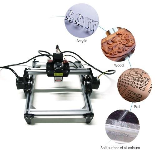 300mW LG-L5S DIY Laser Engraver Kits Wood Carving Engraving Cutting Machine Desktop Printer Logo Picture Marking Machines EU Plug