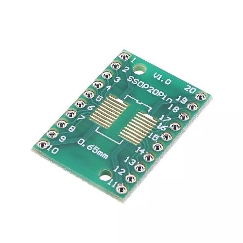 25個入りPCBボードキットSOP20 SMD  -  DIPアダプタープレート1.27mm DIPピンPCBボードへの変換
