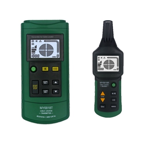 MY6818 AC/DC 12-400V Professional Cable Tester Tracker Finder Wire Short Circuit Breaker Fault Detector