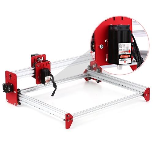 Laser Engaver 2500mw Mini DIY Engravering Carving Cutting Machine Desktop Printer A3 Size Working Area