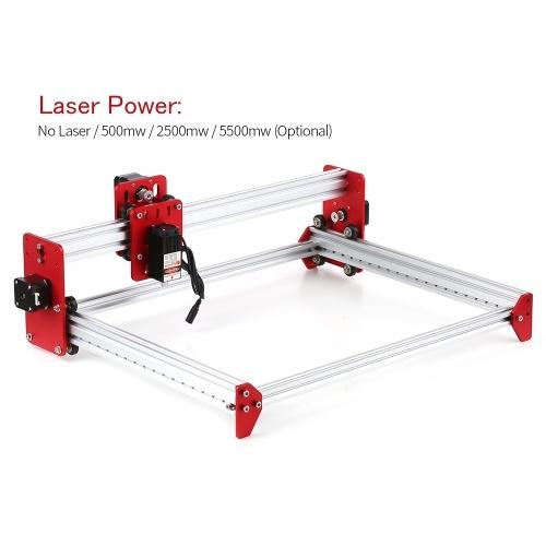 Laser Engaver 5500mw Mini DIY Engravering Carving Cutting Machine Desktop Printer A3 Size Working Area