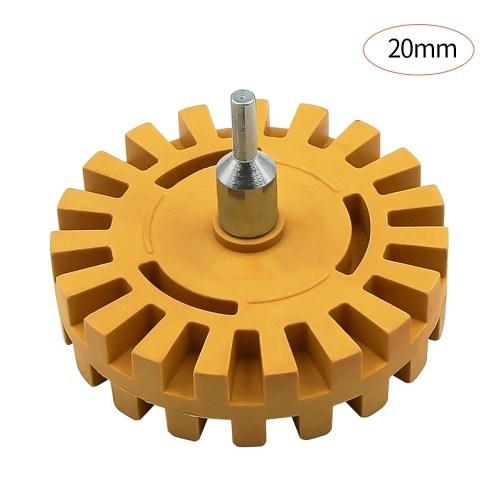 4 inch Pneumatic Rubber Remover Wheel Car Decal and Sticker Removal Eraser Decal Removal Scraper Tools