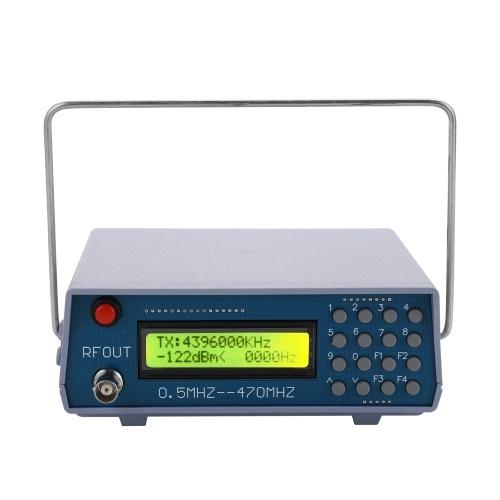 FMラジオ用0.5MHz-470MHzRF信号発生器メーターテスターWalkie-talkieDebug Digital CTCSS Singal Output