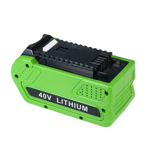 40V 5000mAh Rechargeable Replacement Lithium Battery for GreenWorks 29472 29462 40V GMAX Tools