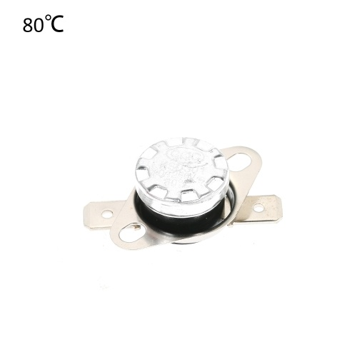 5pcs KSD301 Thermostat Temperature Switch 250V 10A NO Normally Opened Thermal Control Switch Pack of 5pcs Snap Disc Limit Control Thermal Switch for Household Electric Appliances фото