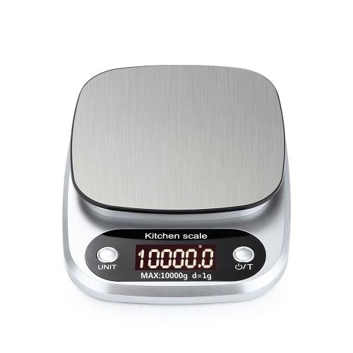 TOMTOP Портативные Цифровые Весы Мини Цифровые Кухонные Весы Профессиональные Точные Электронные Весы Точность Баланс 10 кг * 1 г DH-C305