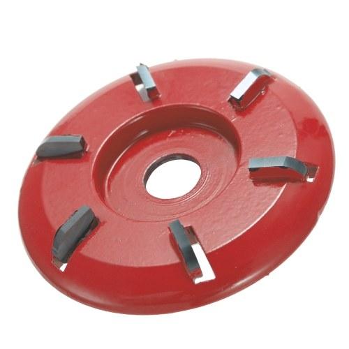 Fresa per utensili a disco per intaglio del legno a sei denti per smerigliatrice angolare con apertura di 16 mm