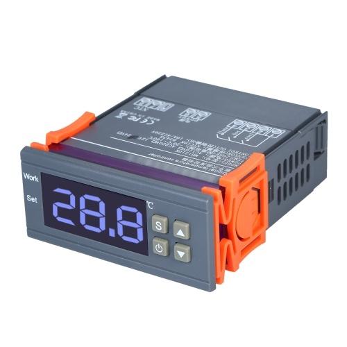 Цифровой регулятор температуры Smart LED Цифровой дисплей Термостат Отопление Температура охлаждения Калибровка Контроль 12В -20 ~ 100 Range Диапазон температур