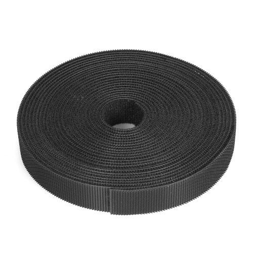 Organizzatore di fili riutilizzabile di fissaggio a 1 rotolo Fascette multiuso Fune per cavi Gestione cavi Hook & Loop Fascette di fissaggio in nylon