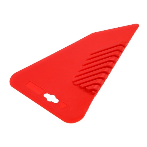 Large Red Rubber Bevel Painting Wall Brush Hand Scraper Wall Painting Tool