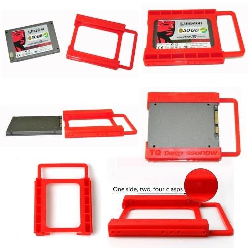 """Adaptador de HDD SSD de 2.5 """"a 3.5"""" Soporte de bandeja de montaje Disco duro Bay Caddy Plastic"""