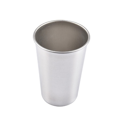 4 Sizes Stainless Steel Drinking Juice Beer Glass Portion Cups Home Travel Cup