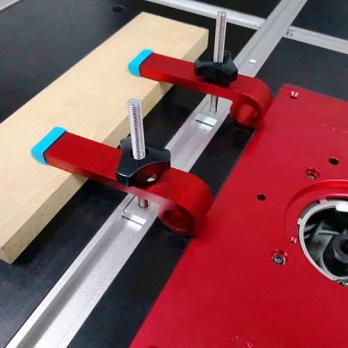 Hold Down Clamp Universal T-Slot T Track 30 Type Track Clamping Aluminum Alloy Woodworking Tool Type A