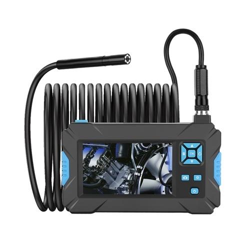 P30 синий ручной эндоскоп промышленный 4.3-дюймовый HD-дисплей с разрешением 1080p бороскоп