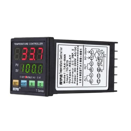 Цифровой светодиодный PID регулятор термометр Отопление, охлаждение управления RNR 1 реле вывода TC/RTD фото