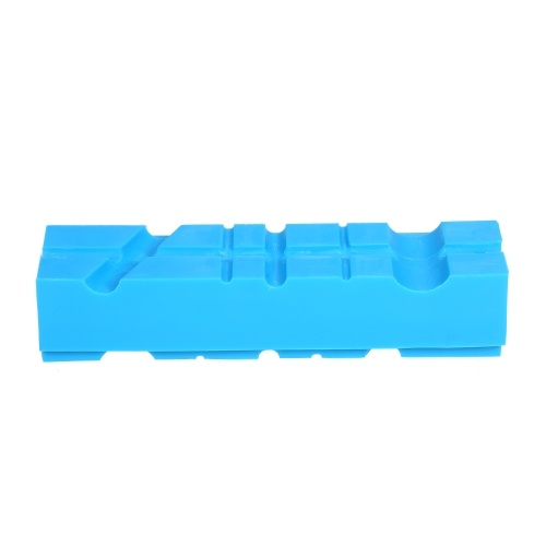 5.5In Vise Jaws Milling Vise Jaw Clamps with Magnetic Nylon Vise Pad for Holding Pipe Machine Accessories