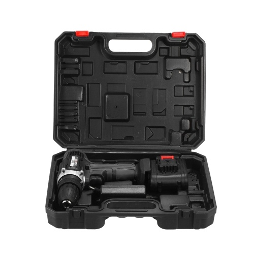21V Cordless Drill Dirve Kit 2 Speed All Copper Motor Cordless Power Drill with 1x1.5Ah Batteries Fast Charger 15+1 Torque Setting Max Torque 30N.m 3/8, TOMTOP  - buy with discount