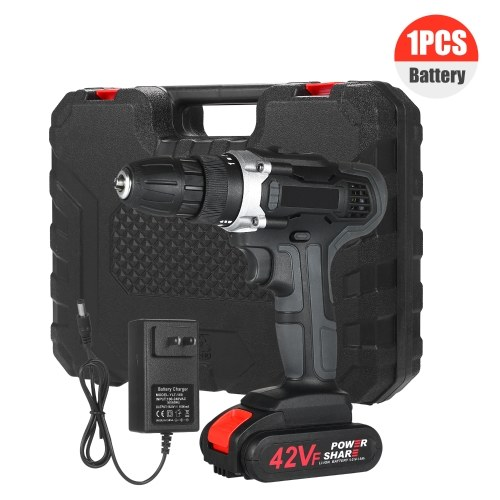 21V Cordless Drill Drive Kit 2 Speed Brushless Cordless Power Drill