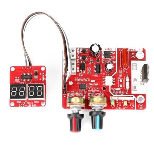 スポット溶接機DIYコントローラーパネル時間と電流制御機能とデジタルディスプレイ