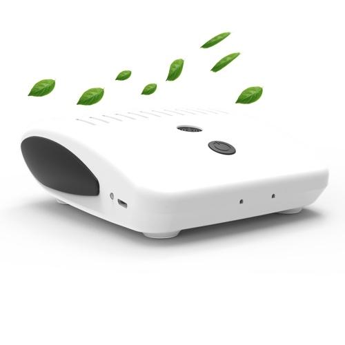 Portable Voiture Éliminateur D'odeurs Air Ioniseur Purificateur De Bureau Désodorisant USB Générateur D'ions Négatifs Supprimer La Poussière Cigarette Fumée Mauvaises Odeurs