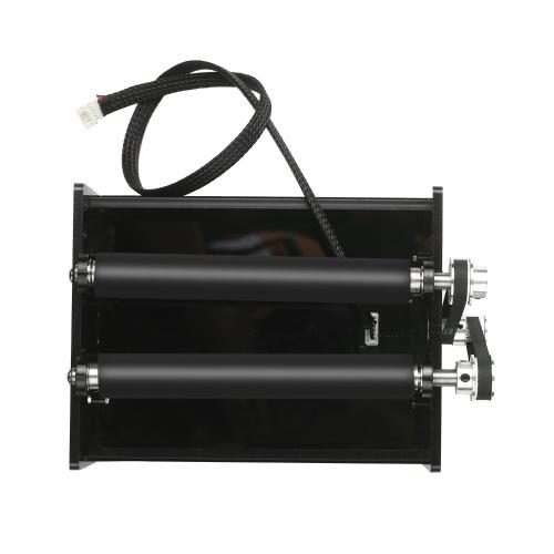 Eje rotativo para máquina de grabado láser Grabador láser Tallado esférico para grabado Grabado de superficie de bola