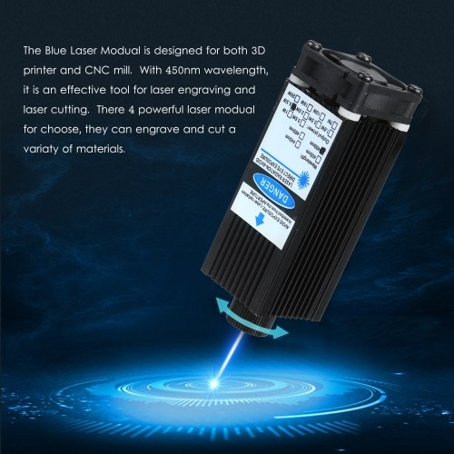 5500mW Laser Module Laser Head 450nm Blue Lase for Laser Engraving Machine Wood Marking Cutting Tool