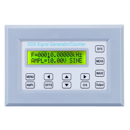 2/5/10/12MHZ SGP2102S DDS Function Signal Generator Frequency Counter Synchronized TTL/Impulse Signal Output Square Wave Frequency Sweep Panel