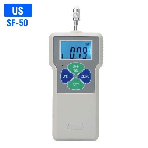 Misuratore di forza digitale push pull tester calibro dinamometro portatile tester distruttivo 50N / 5kg / 11lb 100-240 V