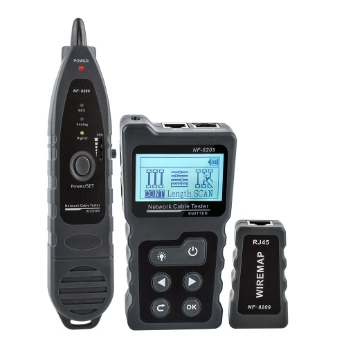 Multi-functional LCD Network Cable Tester Wire Tracker