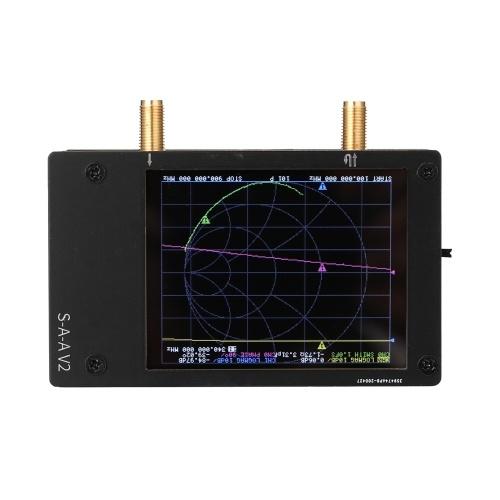 3G Vector Network Analyzer S-A-A-2 NanoVNA V2 Antenna Analyzer Shortwave HF VHF UHF with Housing