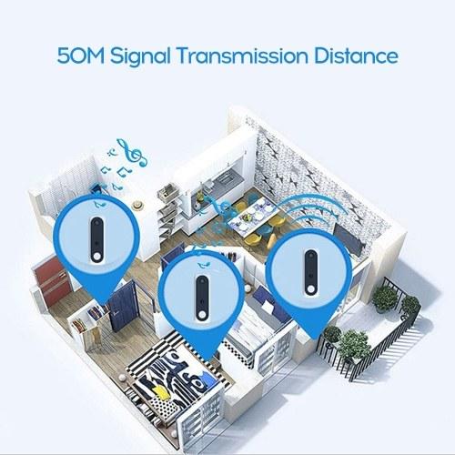 Smart Wireless Visual Doorbell Voice Intercom Night Vision Home Security Wifi Video Camera