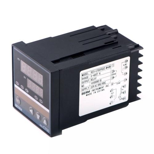 REX-C700FK02-M * AN Intelligente Temperaturregler-Digitalanzeige 0-400 ℃ Relaisausgang vom Typ K.