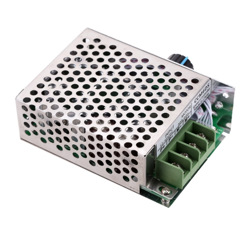 Регулируемые DC кисти скорость двигателя PWM контроллер регулятор с переключатель 12В 24V 36V 48V 50V 30A 1500W с переключателем